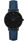 Cluse Minuit Full Black/Denim CL30031