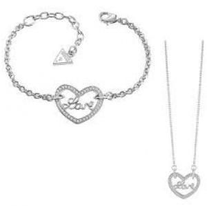 8651350146 Dámske šperky ŠPERKY Guess šperky Set UBB82075 UBN82063