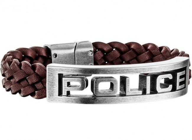 Police náramok PJ.25489BLC/02-S